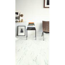Quick-Step Ambient Glue Мрамор каррарский белый
