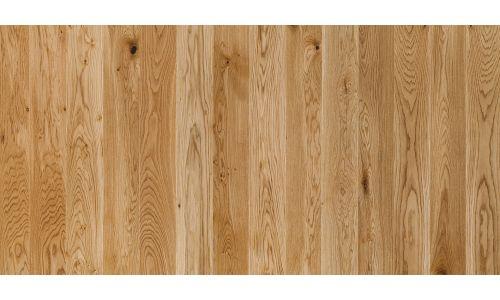 Паркетная доска Floorwood ASH Madison milky white MATT LAC 3S