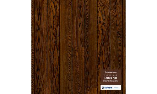 Паркетная доска Tarkett Tango Art Браун Барселона браш